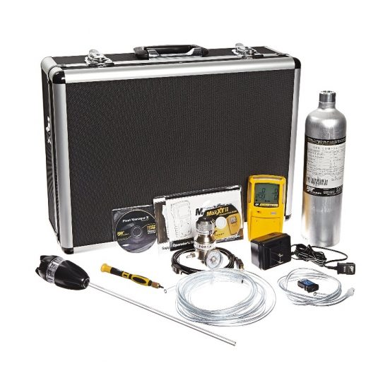 BW GasAlertMax XT II Confined Space Kit, Deluxe and Case