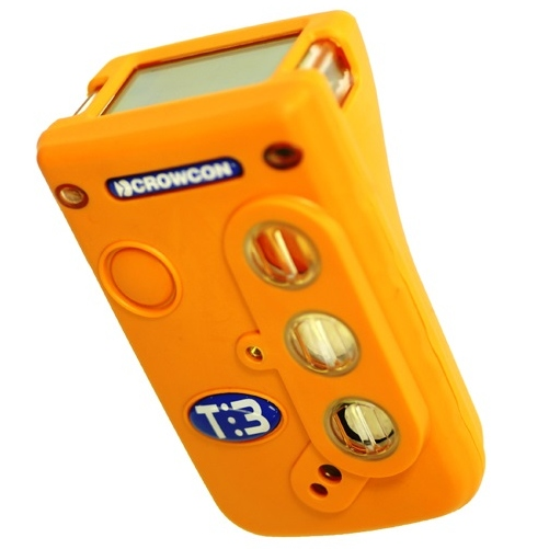 Tilted Angle Of The Crowcon T3 Gas Detector