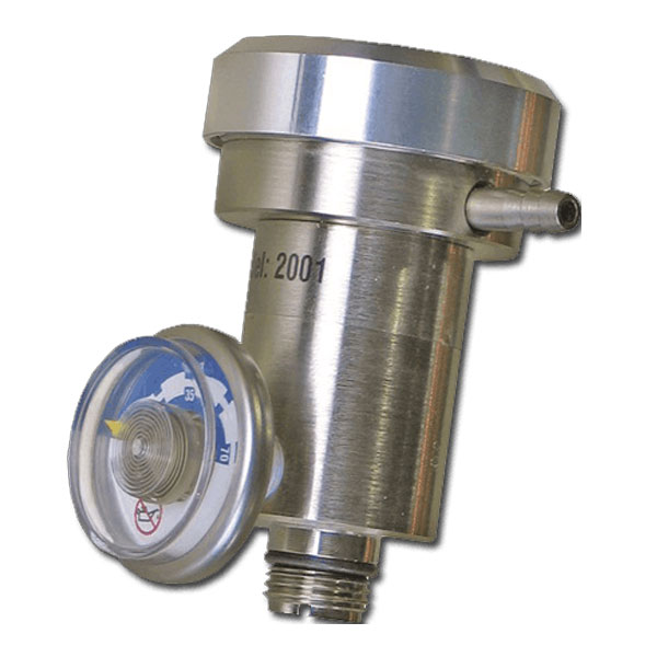 BW Demand Flow Regulator for Screw Mounted Valve of Disposable Cylinders