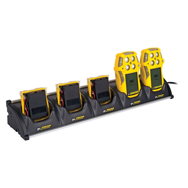 BW GasAlertQuattro Multi-Unit Cradle Charger