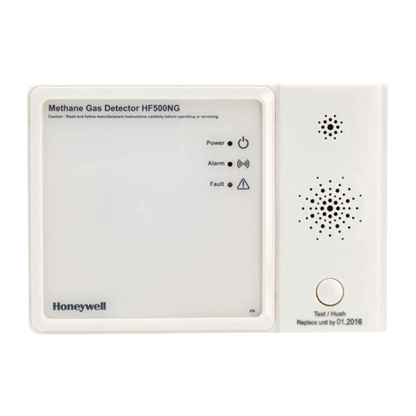 Honeywell HF500NG (Hardwired Natural Gas Alarm With Relay)