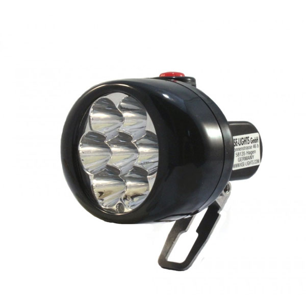 KSE LED Cordless Cap Lamp KS-6000 Non ATEX Rechargeable