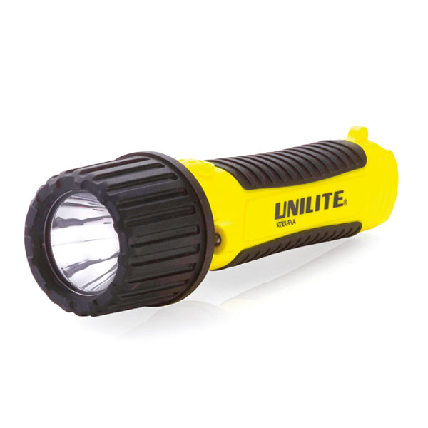 Unilite Atex FL4 LED Torch (Zone 0)