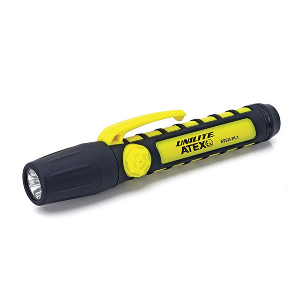 Unilite Atex PL1 Zone 0 LED Penlight Torch
