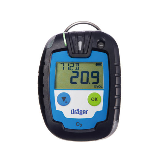 Drager PAC 6000 Gas Detector - O2