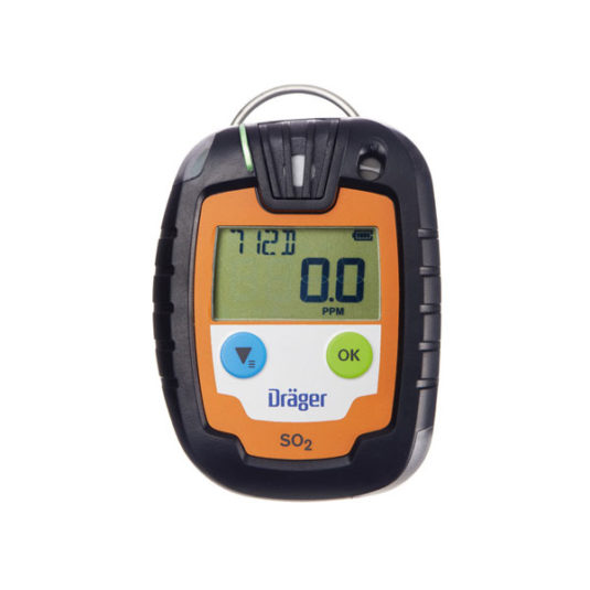 Drager PAC 6000 Gas Detector - SO2