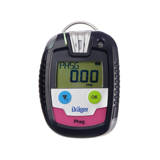 Drager PAC 8000 Gas Detector - PHSG