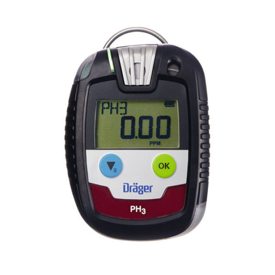 Drager PAC 8000 Gas Detector - PH3