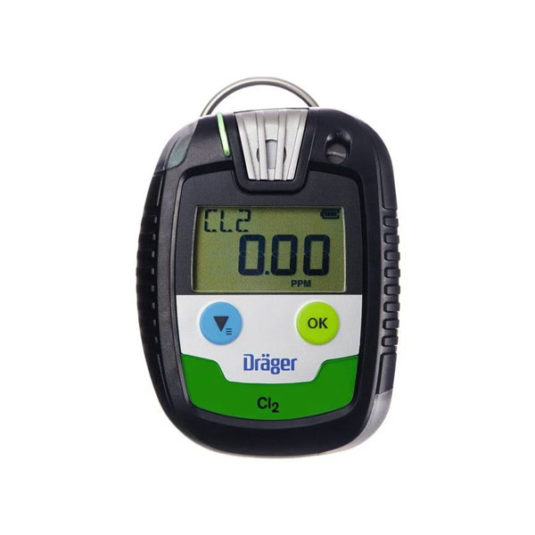 Drager PAC 8000 Gas Detector - CL2