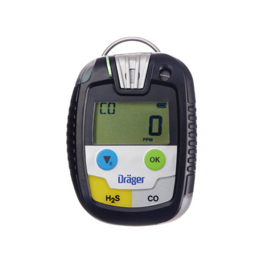 Drager PAC 8500 Gas Detector - H2S / CO