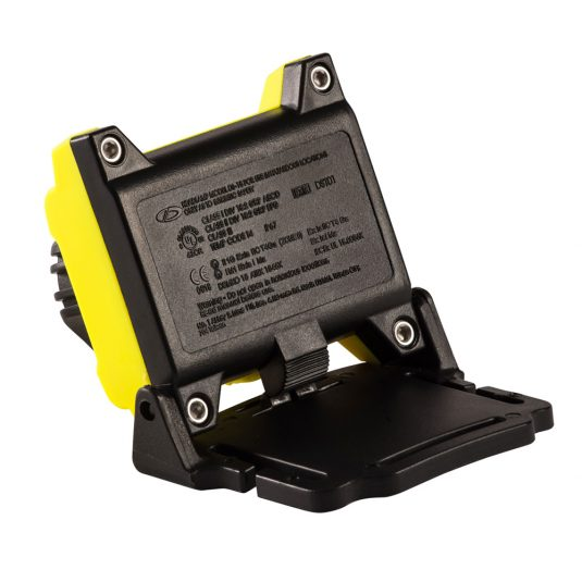 Unilite ATEX H1 Head Torch (Rear View Of Unhooked Light)