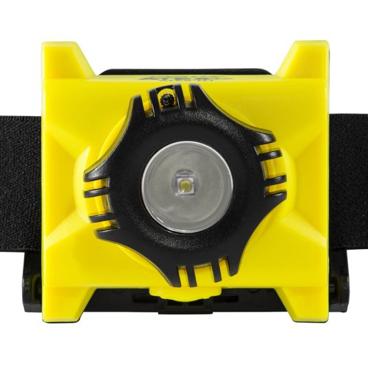 Unilite ATEX H1 Head Torch (Zoomed In Angle Of Light)
