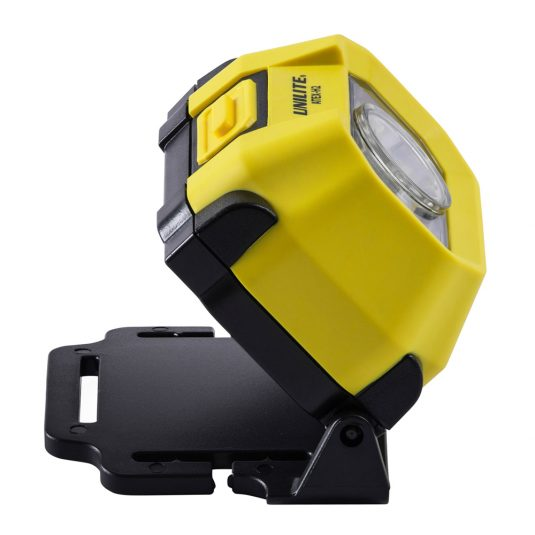 Unilite H2 Atex Head Torch (Light Leaning Upwards, Facing Right)