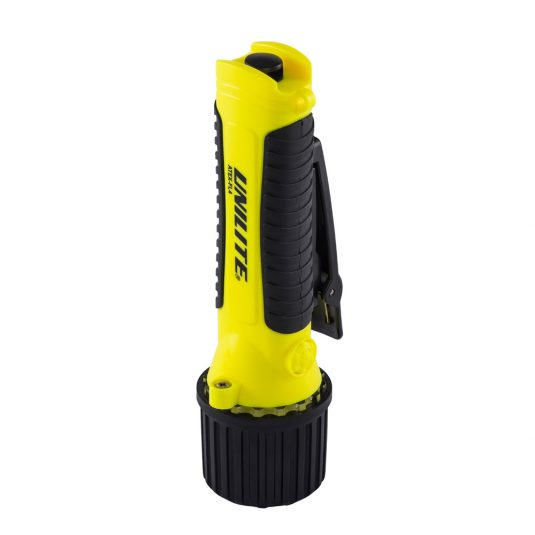 Unilite FL4 Hand Torch (Upside Down, Tilted View)