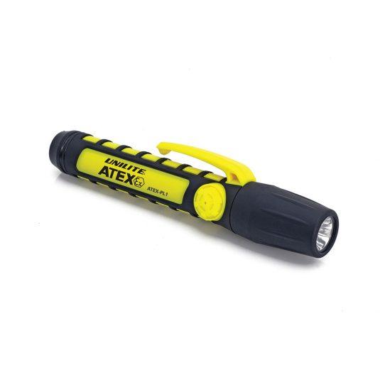 Unilite Atex PL1 LED Penlight Torch (Laid Flat, Sideways)