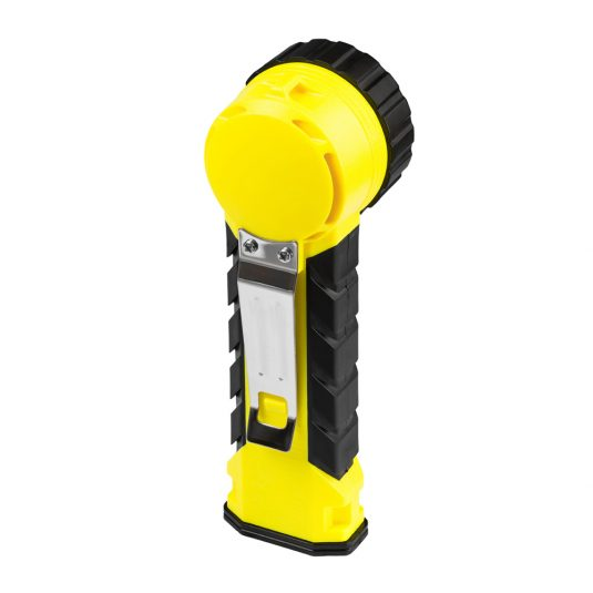 Unilite RA2 Zone Hand Right Angle Torch (Rear View - Facing Diagonally)