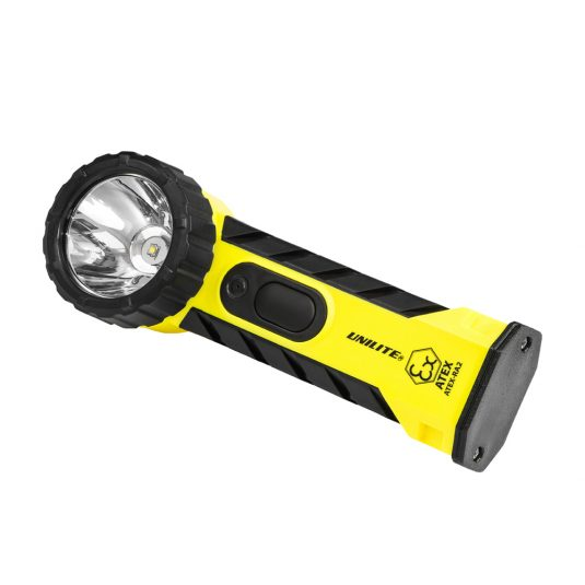 Unilite RA2 Zone Hand Right Angle Torch (Faced Sideways - Light To The Right)