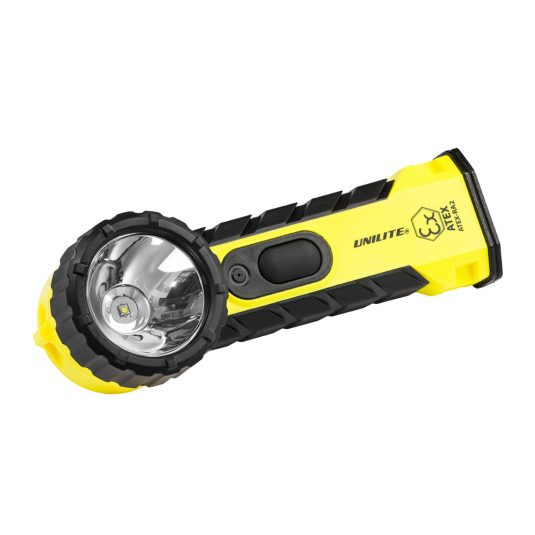 Unilite RA2 Zone Hand Right Angle Torch (Faced Sideways - Light To The Left)
