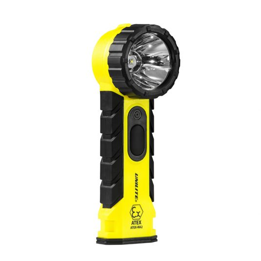 Unilite RA2 Zone Hand Right Angle Torch (Upright, Facing Diagonally)