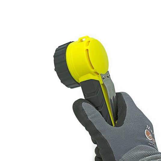 Hand Holding Unilite RA2 Zone Hand Right Angle Torch