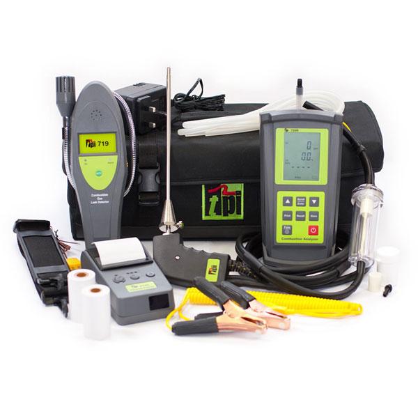 TPI 709R Kit 5 IR Printer 2 X Temp Pipe Clamps CPA Probe & TPI 719 Gas Sniffer
