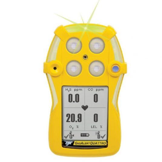 BW Gas Alert Quattro Multi Gas Detector Series