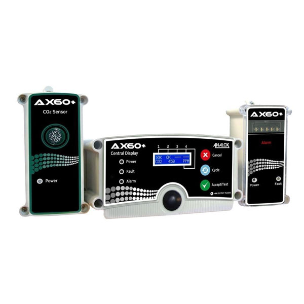 Analox AX60+ CO2 Gas Detector