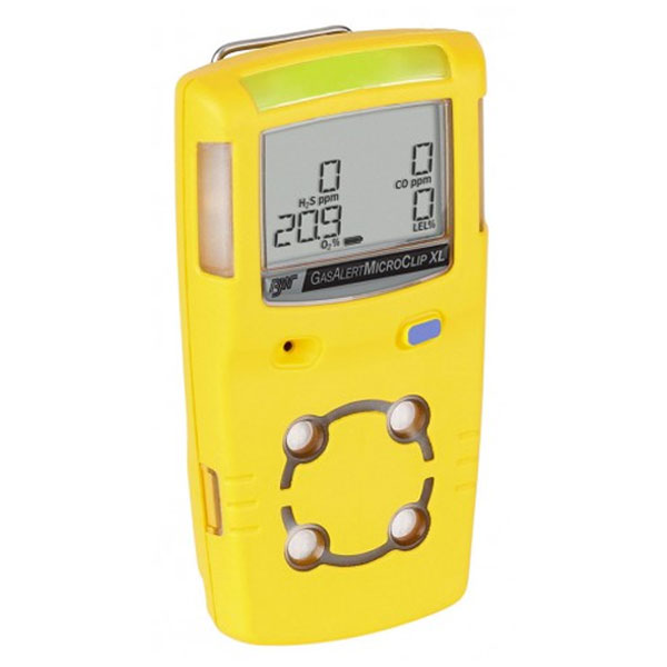 BW GasAlertMicroClip XL Gas Detector