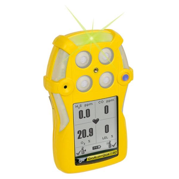 BW Gas Alert Quattro Multi Gas Detector