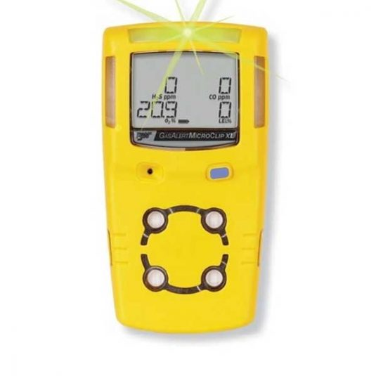 BW GasAlertMicroClip XL Gas Monitor