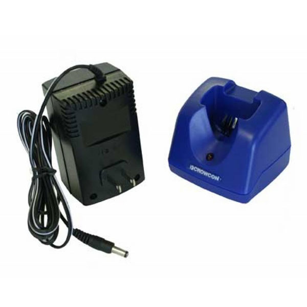 Crowcon Single Way Charger with Plug