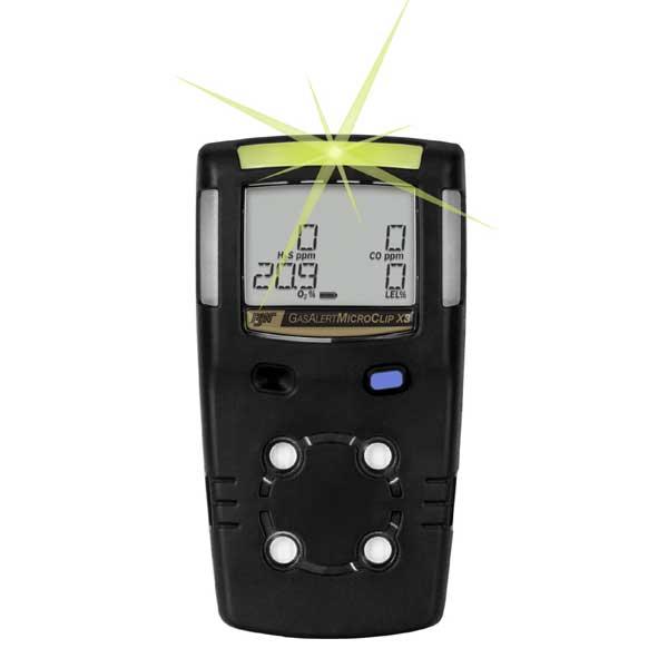 BW Gas Alert Micro Clip X3 (Black Variant)