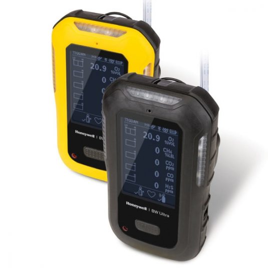 BW Ultra Gas Detector Series (Yellow & Black Variants - Side View)