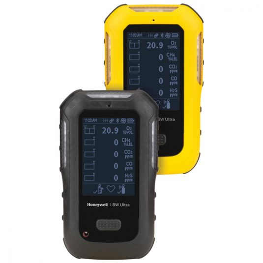 Honeywell BW Ultra Gas Monitor (Yellow & Black Variants Side By Side)