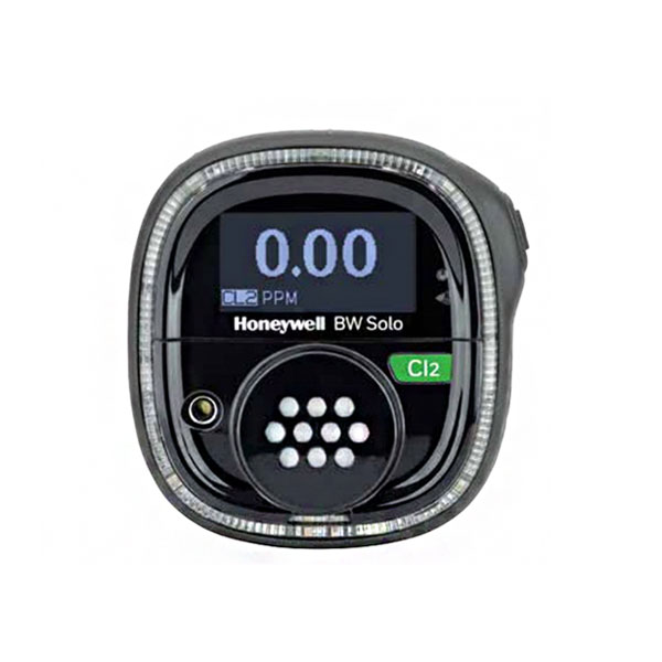 Honeywell BW Solo Gas Detector - Black Variant