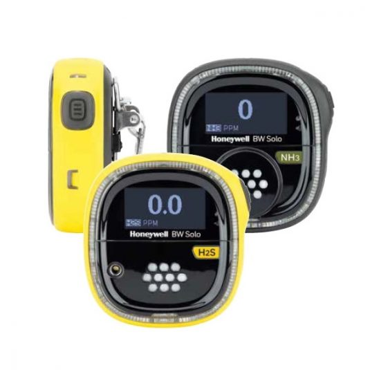 BW Solo Gas Detector - Yellow and Black