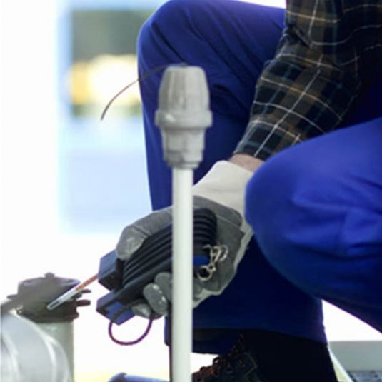 Zoomed In Image Of Worker Using Drager Short Term Tubes
