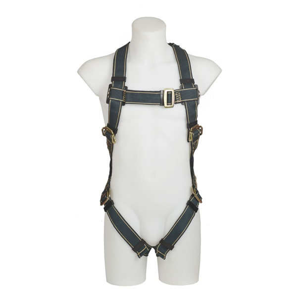 MSA Thermatek Safety Harness - Front View