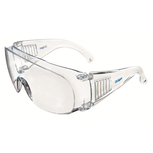 Dräger X-Pect 8110 Protective Eyewear - Transparent (Pack of 10)