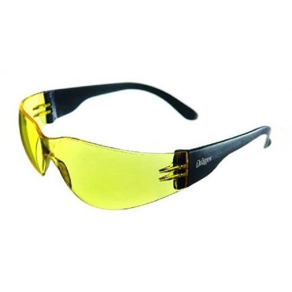 Dräger X-Pect Safety Sunglasses - Yellow (Pk of 10)