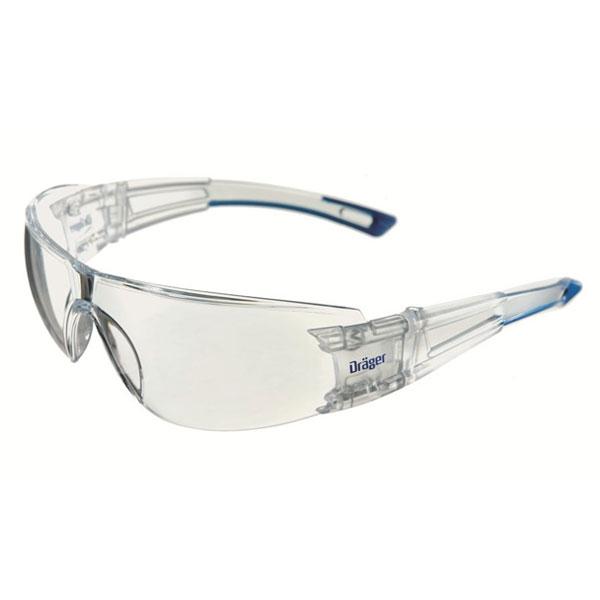 Dräger X-Pect Protective Sunglasses - Transparent w/ Brown Tint