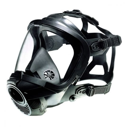 Side View (Right Angle) Image For Drager FPS 7000 Full Face Mask