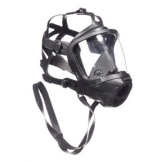 Side View Image (Left View) For Drager FPS 7000 Full Face Mask