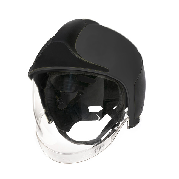 Dräger HPS 7000 Firefighter's Helmet in Black