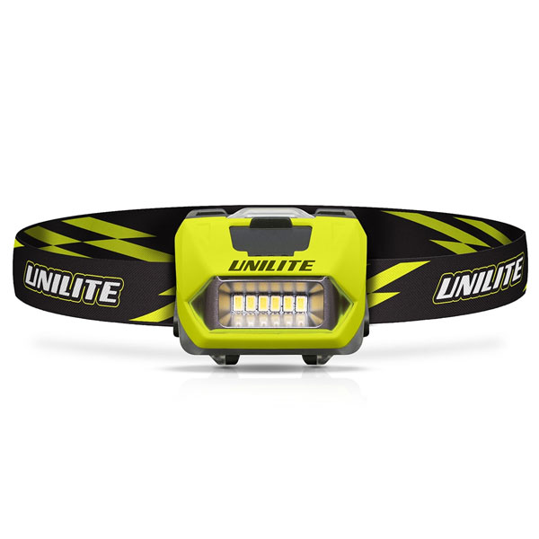 Unilite Prosafe Head Torch with Rechargeable LED Light (PS-HDL6R)