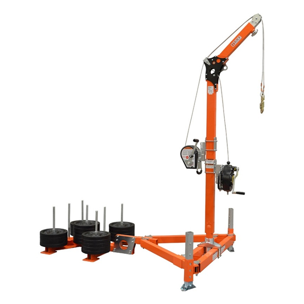 Abtech Safety Davit Counterweight Base System (30073)