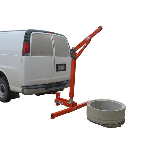 Abtech Safety Davit Vehicle Hitch Mount (30093)
