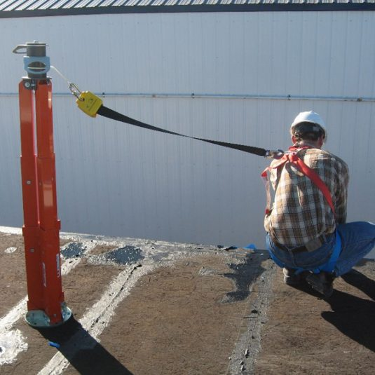 Abtech Safety Three Person Fall Arrest Post (30137)