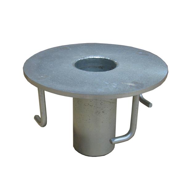 Abtech Safety Davit Flush Floor Mount (30023)