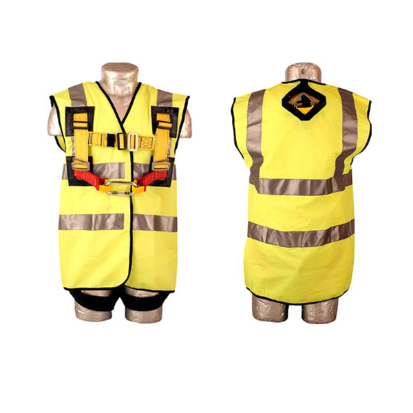 Abtech Safety Hi Vis Harness Jacket